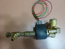 """Asco Red Hat II, EF8345G1 PARKER fittings, pipe 1/4"""" 10.1W Solenoid Valve 3-wire"""
