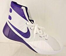 NEW NIKE Hyperdunk High Top Basketball Shoes Men s 17 M Purple White  812944-150 fb2b5de729