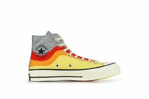 NEW sz 11 Converse Chuck 70 Hi 169518c Storm Front Yellow Cream All-Star NorEast