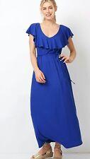 womens frill maxi dress size 16