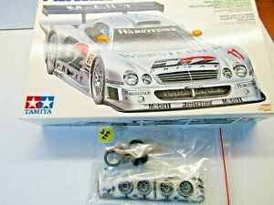 Tamiya 1:24 Scale Mercedes CLK-GTR Wheels & Tyres only as pictured
