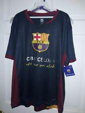 FC Barcelona soccer jersey T-shirt Barça fútbol camiseta azul camisa  NEW M