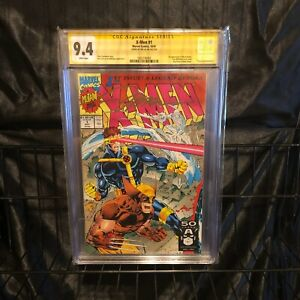 X-Men 1 CGC 9.4 signed by Jim Lee