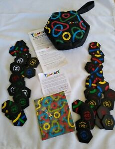 Tantrix Game, Solitaire Puzzle with Instructions & Zip Up Bag 100% Complete VGC