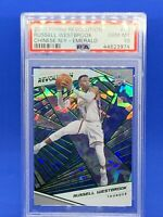 2018 Revolution Russell Westbrook Chinese New Year Emerald #/88 PSA 10 Gem MT 💥