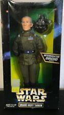 "STAR WARS Grand Moff Tarkin 12"" Figure Kenner 1997 Interrogator Droid Included"
