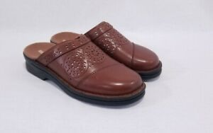 Collection by Clarks Patty Renata brown clog slipper shoes size 5 #39