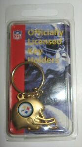 Pittsburgh Steelers Keychain Gold Helmet Officially Licensed NFL New