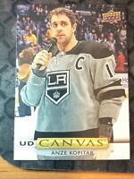 UPPER DECK 2019-2020 SERIES ONE ANZE KOPITAR CANVAS HOCKEY CARD C-68