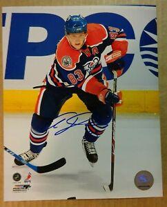 Autographed ALES HEMSKY Signed Edmonton Oilers 8x10 Photo File