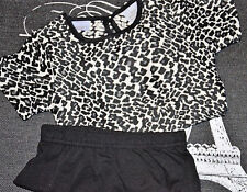 KARDASHIAN KIDS - Leopard Print Shift Dress & Bloomers (Baby Girls) SIZE 24M