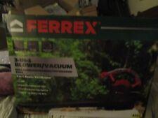 NEW! FERREX 3-IN-1 BLOWER/ VACUUM/ MULCHER