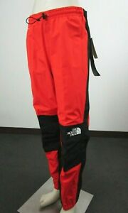 Mens The North Face Mountain Light Futurelight Waterproof 3L Full Zip Pants Red