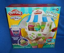 Hasbro Play-Doh Ice Cream Sundae Cart Playset - Ages 3+  Brand NEW, Boxed