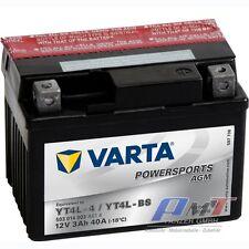 Varta Motorradbatterie-Funstart AGM YT4L-4  YT4L-BS-12V-3AH-30A 503014003