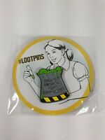 LOOT CRATE Screw Your Lab Safety I Want Super Powers Pin Exclusive NEW