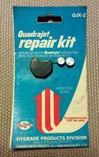 QJK2 ROCHESTER QUADRAJET CARBURETOR REPAIR KIT - FLOAT BOWL PLUGS - BY HYGRADE