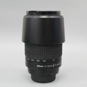 Nikon AF Nikkor 70-300mm 1:4-5.6 G Lens with Lens Hood