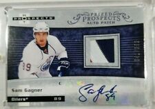 2007-08 Sam Gagner FLEER HOT PROSPECTS Autograph Patch /399 Auto RC Oilers  SP