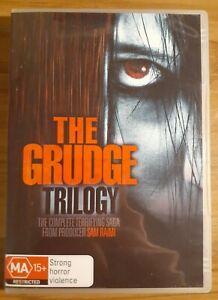 The Grudge Trilogy (DVD, 2010, 3-Disc Set)