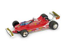 Ferrari 312 T4 G. Villeneuve 1979 #12 Winner Usa Ovest GP 1:43 Model R578 BRUMM