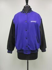 AMERICAN GIRL JACKET COAT WOOL BLEND QUILTED LINING SNAP FRONT WOMENS L