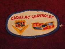 Vintage Cadillac Chevrolet Patch