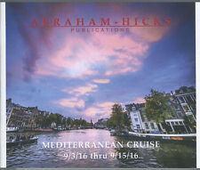 Abraham-Hicks Esther 13 CD Mediterranean Cruise 2016 - NEW