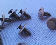 10x Verkleidung Clips Befestigung Halter Klip f Nissan Toyota Mazda 6mm grau 32C