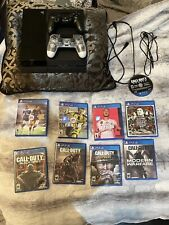 Sony PlayStation 4 PS4 500 GB With 2 Controllers And Games