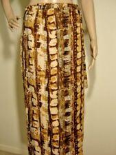 IMAGIO 10 M London Paris NY Boho Hippie Festival VTG Midi Maxi Rayon Wrap Skirt