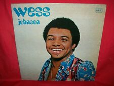 WESS JOHNSON Same LP 1973 Italy Beat Soul Funk First pressing Lam G/f Cover