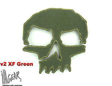 ill Gear MONSTER v2 GREEN SKULL  Patch Tactical Survival Zombie EDC Bags