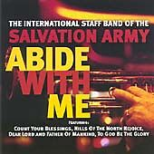 Abide With Me, Salvation Army Band, Very Good CD