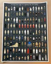 STAR WARS Movie Poster EPISODES IV-VI Max Dalton Print Mondo JEDI Rey Stout Moss