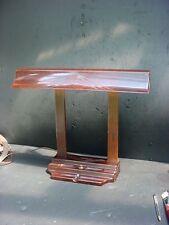 Vintage Art Deco Eagle Florescent Bakelite Desk Table Lamp USA Made
