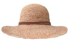 Sombrero Mujer de Ala Ancha Paja Enrollable Caso Vacaciones en la Playa