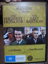 Australian WW2 Movies  Highest Honour Story Z Force Jaywick & Last Bastion DVD