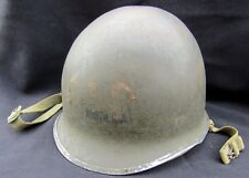 WWII US ARMY NAVY MP M1 Helmet ID'D Named. Nice Original Complete Set! RARE!!!