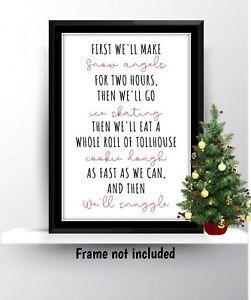 Christmas Xmas Buddy The Elf Film Movie Quote Print Wall Art Gift Present Decor