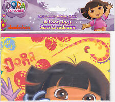 Party Bags DORA THE EXPLORER Candy Treat Favors Birthday 8 Pk