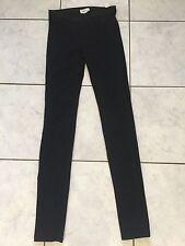 Designer Helmut Lang Black leggings 6 8