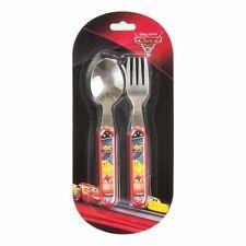 Disney Cars Metal Cutlery Set Fork and Spoon