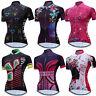 2017 Ladies Cycling Jerseys Short Sleeve Women Bike Shirts Bicycle Maillots