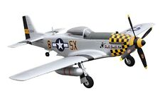 RC Motorflugzeug P-51D Mustang yellow PNP 4 Kanal SW 75 cm NEU
