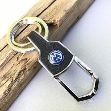 NEW VW LOGO BELT CLIP HOOK KEYCHAIN KEY-CHAIN Key Ring KC076