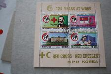 COREE - NORTHEN KOREA N°1940/43 - 125 ans de la croix & du croissant rouge