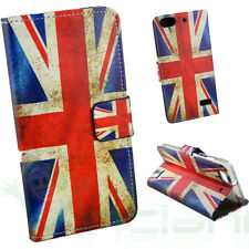 Custodia per Huawei G Play Mini cover BANDIERA INGLESE UK Inghilterra BOOKLET