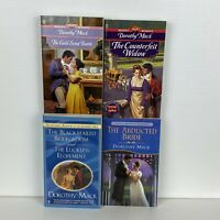 4 Lot (5 Stories) Dorothy Mack Historical Romance Small Paperback Books