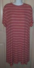 2X Falls Creek Ribbed Striped Stretch Dress